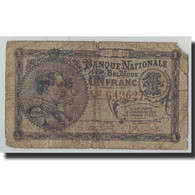Billet, Belgique, 1 Franc, 1920, 1920-03-31, KM:92, B - [ 2] 1831-... : Belgian Kingdom