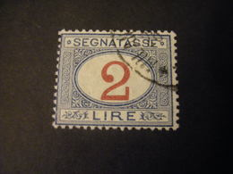 REGNO -  1903, Segnatasse, Val. Complementari, L 2, N. 29, Usato, TTB, OCCASIONE - 1900-44 Vittorio Emanuele III
