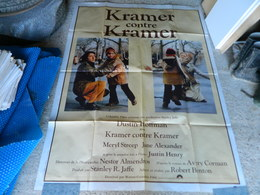 AFFICHE CINEMA KRAMER CONTRE KRAMER AVEC MERYL STREEP DUSTIN HOFFMAN - Manifesti