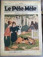Le Pele Mele  Couverture Par Rabier 18 Mai 1919 Le Veau D'or Dort - Journaux - Quotidiens