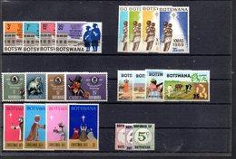 BOTSWANA 6 SERIES COMPLETES A SAISIR - Botswana (1966-...)