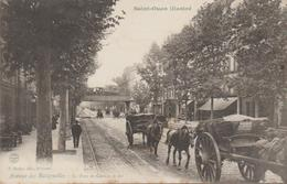 Saint-ouen Illustré - Avenue Des Batignolles, Le Pont Du Chemin De Fer - Altri Comuni