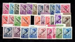 Serbie Occupation Allemande YT N° 1/30 Neufs ** MNH. TB. A Saisir! - Occupation 1938-45