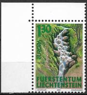 2001  Liechtenstein   Mi. 1255**MNH   Europa: Lebensspender Wasser - Liechtenstein