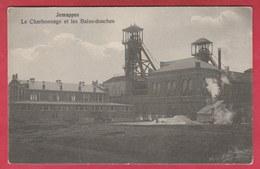Jemappes - Le Charbonnage Et Les Bains-douches -1914 ( Voir Verso ) - Mons