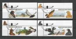 Namibia 2009 Eagles  Y.T. 1171/1174 (0) - Eagles & Birds Of Prey