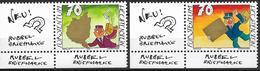 2001  Liechtenstein   Mi. 1259-61**MNH  Grußmarken. - Liechtenstein