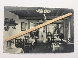GENAPPE«VIEUX-GENAPPE L'AUBERGE DU CAILLOU»Intérieur Du Restaurant 1950 /1960  (NELS) - Genappe