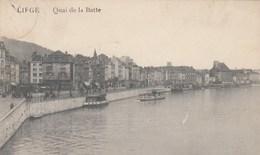 LIEGE /  QUAI DE LA BATTE CACHET ALLEMAND CENSURE - Luik