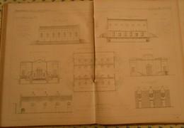 Plan D'une Fabrique De Graisses Pour Voitures Et Huiles Minérales à Ivry Dans La Seine.1866 - Public Works