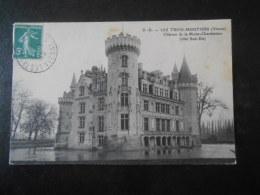 (86) CPA : LES TROIS MOUTIERS - Château De La Motte Chandeniers - Les Trois Moutiers