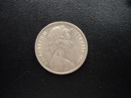 AUSTRALIE : 5 CENTS  1968  KM 64   SUP - Monnaie Décimale (1966-...)