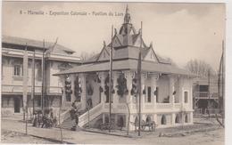 ASIE,ASIA,LAOS,LAO,asie Du Sud Est ,prés Thailande,birmanie,chine, Viet Nam,chine,pavillon Du Laos à MARSEILLE,1922 - Laos