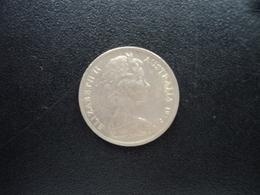 AUSTRALIE : 5 CENTS  1975  KM 64   SUP - Monnaie Décimale (1966-...)