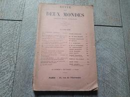 Revue Des Deux Mondes 15 Juin 1930 Souvenirs Algérie De Miribel Irlande Aujourd'hui Delacroix - History