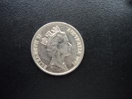 AUSTRALIE : 5 CENTS  1991  KM 80   SUP - Monnaie Décimale (1966-...)