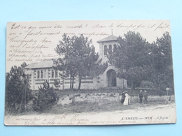 L'Amélie-sur-Mer / L'Eglise () Anno 1902 ( Voir Photo ) ! - Lesparre Medoc