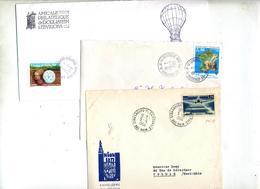 3 Lettre Cachet Strasbourg - Marcophilie (Lettres)