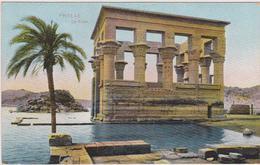 Afrique,1930,ancienne Ile D'égypte PHYLAE,submergée Par Les Eaux Du Lac Barrage D'assouan ,ruine Temple,kiosk,egypt - Egypt