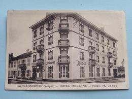 Hôtel MODERNE Place De La Gare Tél N° 43 ( Prop. M. LEROY ) ( 1342 ) Anno 19?? ( Voir Photo ) ! - Gerardmer