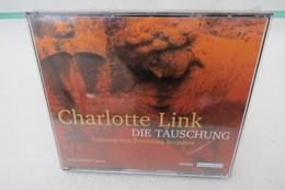 """6 CDs """"Die Täuschung"""" Von Charlotte Link, Hörbuch, Gelesen Von Franziska Bronnen, Orig. Eingeschweißt - Sonstige"""