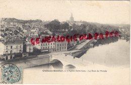 53-  CHATEAU GONTIER- L' EGLISE SAINT JEAN -LE BOUT DU MONDE  19.6 - Chateau Gontier