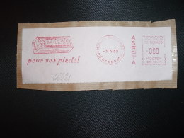 FRAGMENT EMA SR 1041 à 090 Du 3 5 60 MONACO CONDAMINE + ASEPTA + AKILEINE Pour Vos Pieds! - Machine Stamps (ATM)