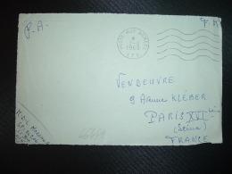 DEVANT L. OBL.MEC.2-8 1960 POSTE AUX ARMEES AFN + EXP: MDL MOREAU G SP 86 206 AFN 11 Bie - Poststempel (Briefe)