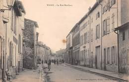 52 - Wassy - La Rue Mauljean Animée - Wassy