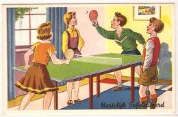 TENNIS DE TABLE TAFELTENNIS - 416 /d1 - Tennis De Table