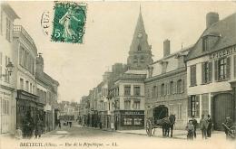 Breteuil. Rue De La République - Breteuil