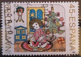 ESPAÑA 1989 Navidad. USADO - USED. - 1931-Hoy: 2ª República - ... Juan Carlos I