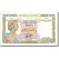France, 500 Francs, 500 F 1940-1944 ''La Paix'', 1940, 1940-06-20, TTB - 1871-1952 Gedurende De XXste In Omloop