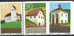 2001  Liechtenstein   Mi. 1268-70**MNH   Ortsbildschutz - Liechtenstein