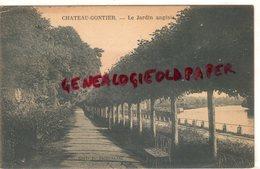 53-  CHATEAU GONTIER- LE JARDIN ANGLAIS - Chateau Gontier