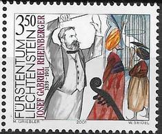 2001  Liechtenstein   Mi. 1274**MNH    . 100. Todestag Von Josef Gabriel Von Rheinberger. - Liechtenstein