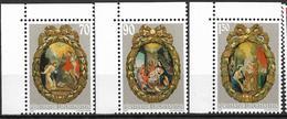 2001  Liechtenstein   Mi. 1275-7**MNH   Weihnachten: Rosenkranzmedaillons. - Liechtenstein