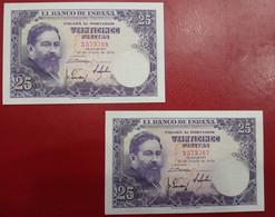 EDIFIL 467.  25 PTAS 22 DE JULIO DE 1954 ISAC ALBENIZ SIN SERIE - [ 3] 1936-1975: Franco