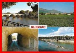 CPSM/gf (30) QUISSAC.  Multivues...B991 - Quissac