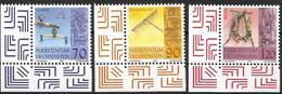 2001  Liechtenstein   Mi. 1278-80**MNH    Altes Handwerk - Liechtenstein
