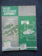 Revue Technique Automobile SIMCA 1300  N° 216 Avril 1964 - Auto/Moto