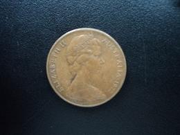 AUSTRALIE : 2 CENTS  1972  KM 63   SUP - Monnaie Décimale (1966-...)