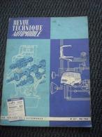 Revue Technique Automobile SIMCA 1000 Et Peugeot 403  N° 217 Mai 1964 - Auto/Moto