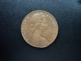 AUSTRALIE : 2 CENTS  1975  KM 63   SUP - Monnaie Décimale (1966-...)