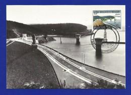 Belgien  1977  Mi.Nr. 1905 , EUROPA CEPT Landschaften - Maximum Card - Premier Jour Welkenrae 7.05.1977 - Maximumkarten (MC)