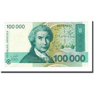 Billet, Croatie, 100,000 Dinara, 1993-05-30, KM:27A, NEUF - Croatia