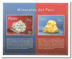 Peru 2017, Postfris MNH, Minerals - Peru