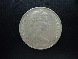AUSTRALIE : 20 CENTS  1969  KM 66   TTB - Monnaie Décimale (1966-...)