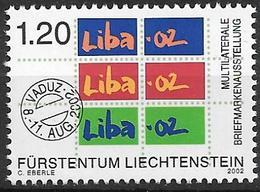 2002  Liechtenstein   Mi. 1285 **MNH Liechtensteinische Briefmarkenausstellung LIBA '02, Vaduz. - Liechtenstein