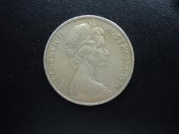 AUSTRALIE : 20 CENTS  1974  KM 66   TTB - Monnaie Décimale (1966-...)